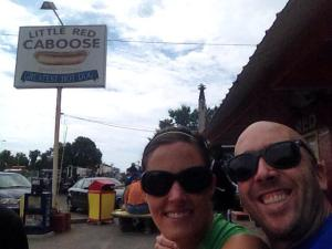 Stop 1 - The Red Caboose