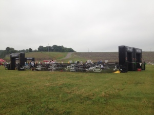 The entire transition area!
