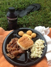 Oh yea, and some of the best post-race food ever!